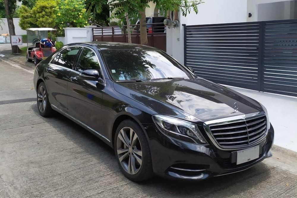 Rent a Mercedes-Benz S500 in Manila | LXV Luxury Specialist