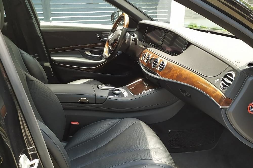Mercedes Benz S500 Interior | LXV Luxury Specialist