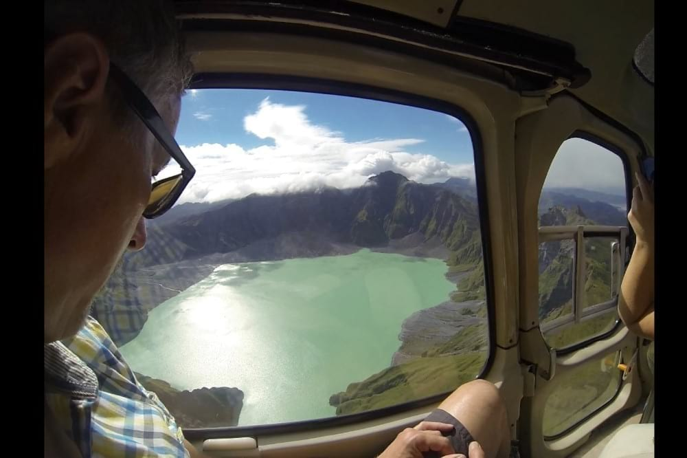 Helicopter Tour to Mt. Pinatubo