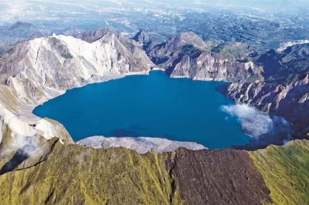 Aerial View of Mt. Pinatubo